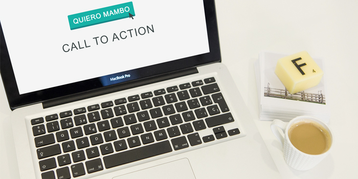¿Qué narices es un Call to Action en Diseño Web?