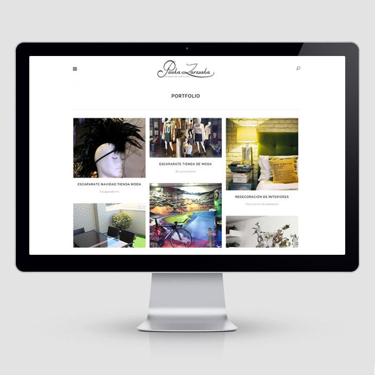 Paula zarzuela portfolio dise o y desarrollo web zaragoza for Diseno interiores zaragoza