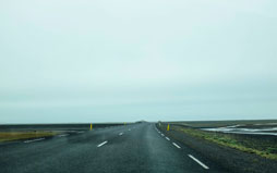 Wallpaper Carretera - Islandia - by Frucomedia